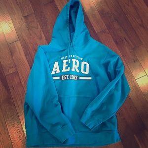 Aero Xl teal sweatshirt